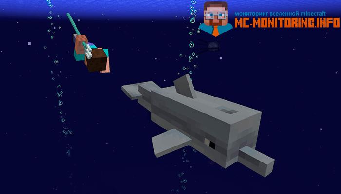 новый моб дельфин