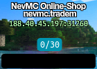 NevMC Online-Shop nevmc.tradem