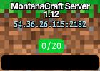 MontanaCraft Server 1.12