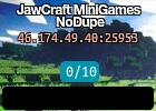 JawCraft MiniGames NoDupe