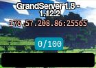 GrandServer 1.8 - 1.12.2