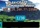 RubinCRAFT --- Выживание Мини-