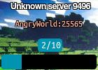Unknown server 9496