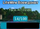LiteMine Bсем донат