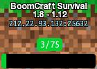 BoomCraft Survival 1.8 - 1.12