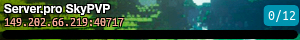 Server.pro SkyPVP