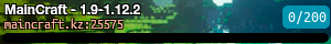MainCraft - 1.9-1.12.2