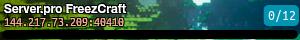 Server.pro FreezCraft