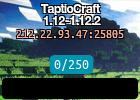 TaptioCraft 1.12-1.12.2