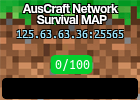 AusCraft Network Survival MAP