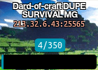 Dard-of-craft DUPE SURVIVAL MG