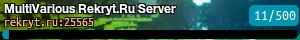 MultiVarious Rekryt.Ru Server